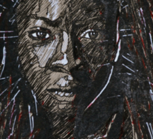 The Walking Dead Michonne Sticker