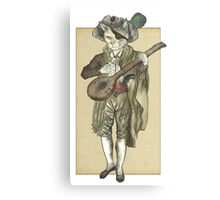 Pirate Cat Musician Canvas Print