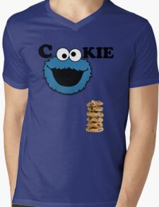 Cookie Mens V-Neck T-Shirt