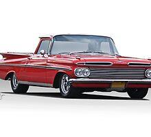 1959 Chevrolet El Camino  by DaveKoontz