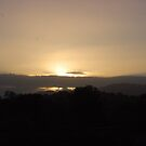 Sunrise over Mt Dandenong  by lettie1957