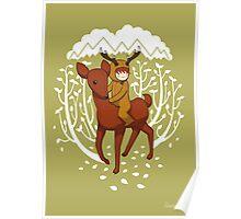 Deer Rider Poster
