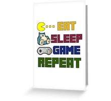 Gamer Life Greeting Card