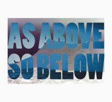 as above so below by Juilee  Pryor