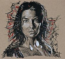 TWD Maggie by tevamana