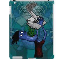 Man Drinking Factory Sludge iPad Case/Skin