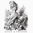 Alice & Friends by David Tribby