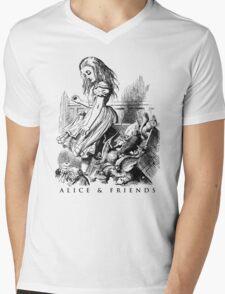 Alice & Friends Mens V-Neck T-Shirt