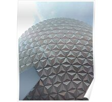 Spaceship Earth- Epcot Poster
