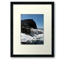 Coastal Bruny Island Framed Print
