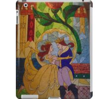 Be Our Guest Restaurant Stained Glass- Magic Kingdom iPad Case/Skin
