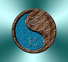 Cancer & Snake Yin Earth by astrodesigner75