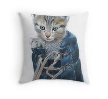 Puss In Boot Throw Pillow