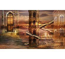 Ethereal towers Photographic Print