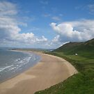 Rhosilli Beach, Gower Peninsula by NuevoVision