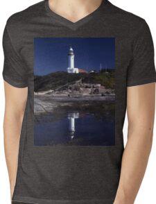 Norah Head Lighthouse, Central Coast, New South Wales, Australia Mens V-Neck T-Shirt