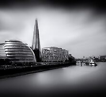 London City and The Shard.  by Ian Hufton