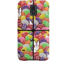 The Easter bunny and the jelly bean invasion Samsung Galaxy Case/Skin