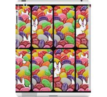 The Easter bunny and the jelly bean invasion iPad Case/Skin