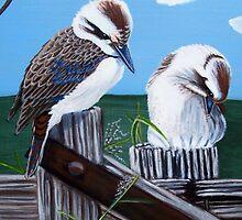 Kookaburras by Sooty6