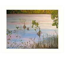 Tranquility Waters Art Print