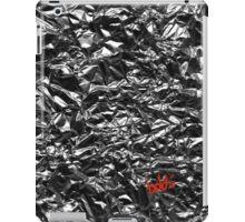 Metallic Silver iPad Case/Skin
