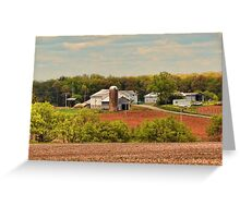 Fall as far as the eye can see Greeting Card
