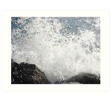 Destruction Wave Art Print