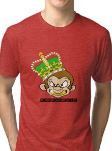 Monkaholic king  Tri-blend T-Shirt