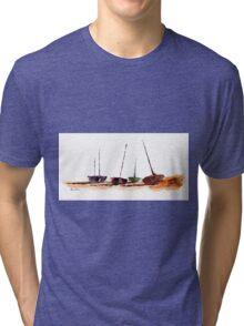 Beach Shadows Tri-blend T-Shirt