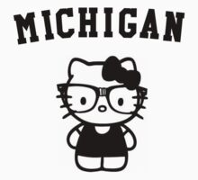 Michigan Hipster Kitty by Beatlemily