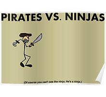 Pirates vs. Ninjas Poster