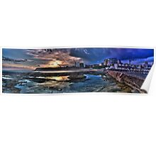 Newcastle baths HDR panoramic Poster