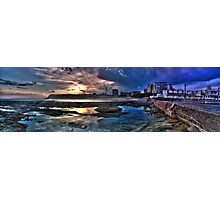 Newcastle baths HDR panoramic Photographic Print