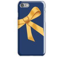 Golden Ribbon iPhone Case/Skin