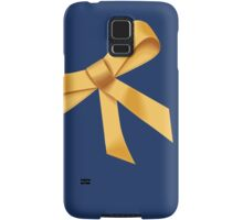 Golden Ribbon Samsung Galaxy Case/Skin