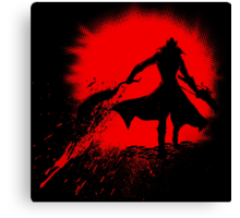 Born from blood Canvas Print