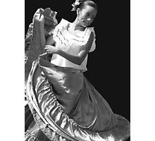 Folklore Dancer Photographic Print