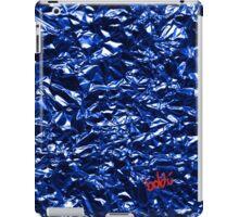 Metallic Blue iPad Case/Skin