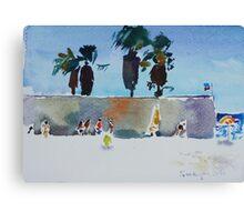 Sardinia beach Canvas Print
