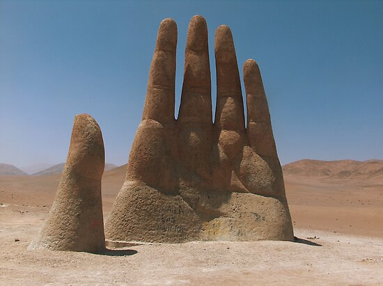 Give me a hand, Atacama Desert, Chile by Martyn Baker | Martyn Baker Photography
