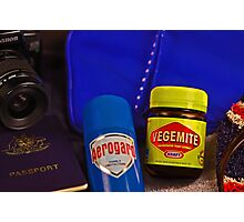 Aussie Travel Essentials  Photographic Print