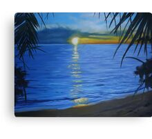thailand commission painting Canvas Print