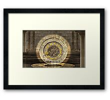 The vault of Time Framed Print