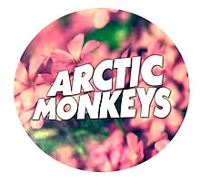 Floral Arctic Monkeys logo by MayaTauber
