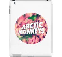 Floral Arctic Monkeys logo iPad Case/Skin