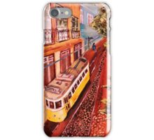 Yellow tram iPhone Case/Skin