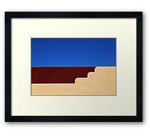 Denny's Roof Framed Print