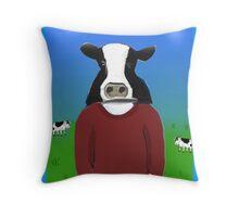 Cow-boy Throw Pillow