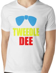 Tweedle Dee Mens V-Neck T-Shirt